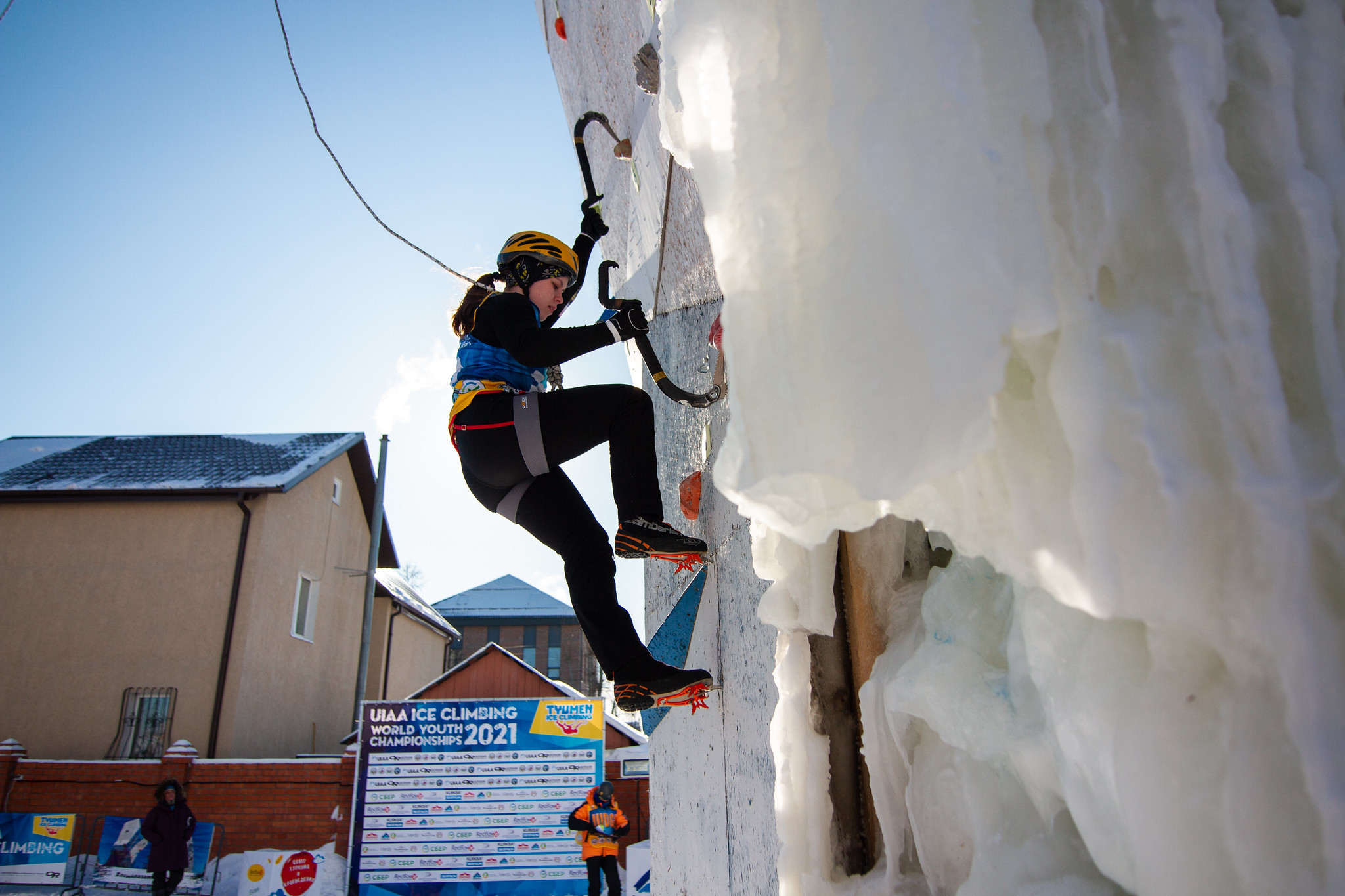 The UIAA Ice Climbing World Youth Championships have been held in Tyumen ©UIAA
