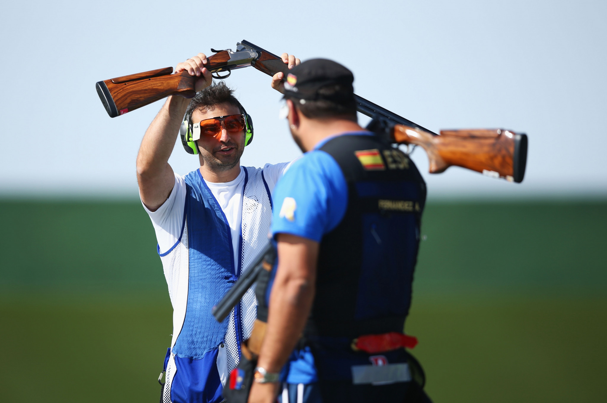 Spain and Russia impress in trap qualifiers at ISSF World Cup in Cairo