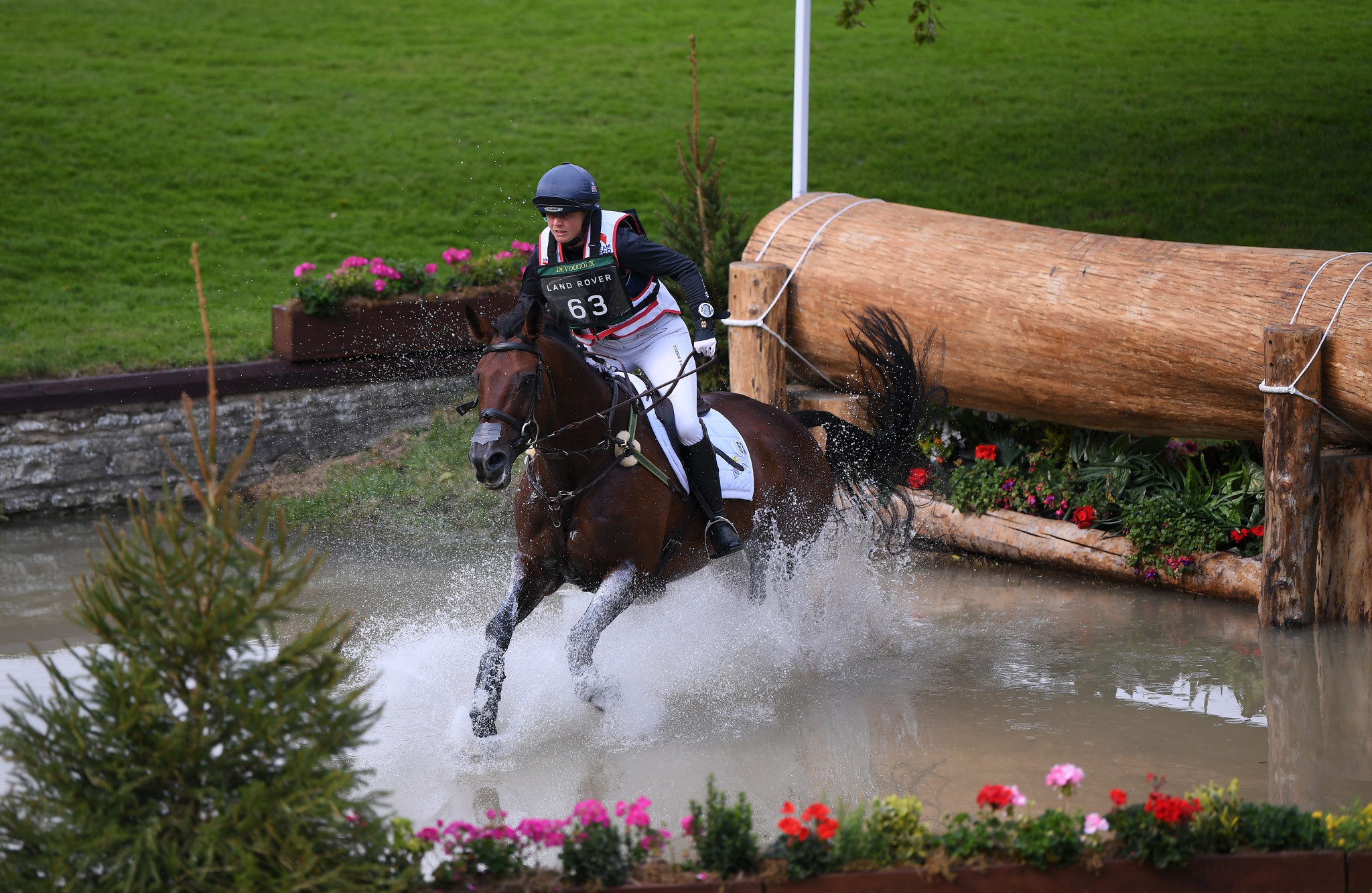 Piggy French, riding Vanir Kamira, won the Badminton Horse Trials the last time the competition was staged, in 2019 ©Getty Images