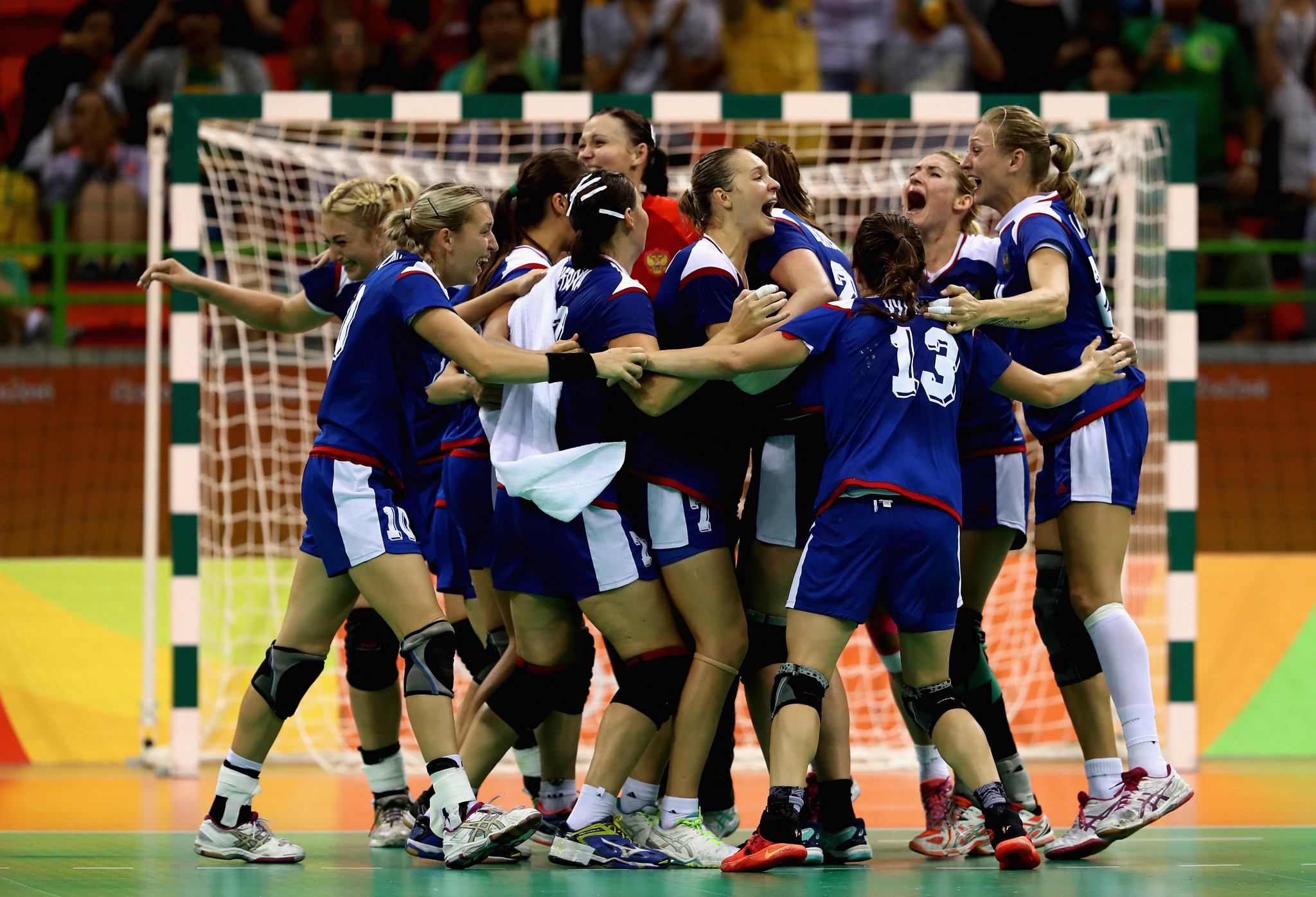 Russia beat France in the women's handball final at Rio 2016 ©Getty Images