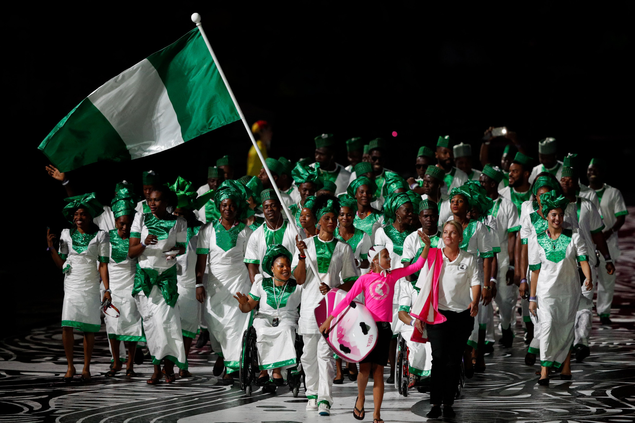 Emmanuel Ifeajuna was a Nigerian sporting hero when he won his high jump gold ©Getty Images
