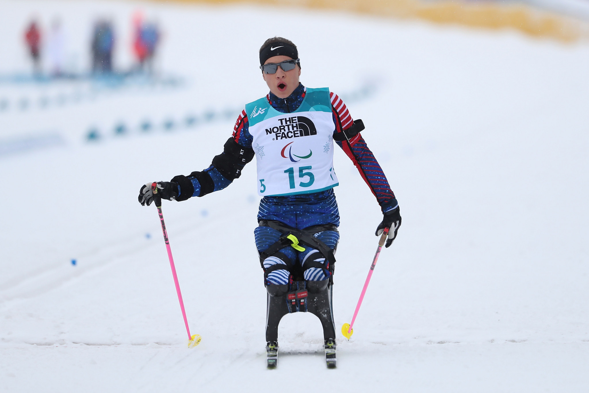 Paralympic champion Oksana Masters is among the athletes set to compete in Slovenia ©Getty Images