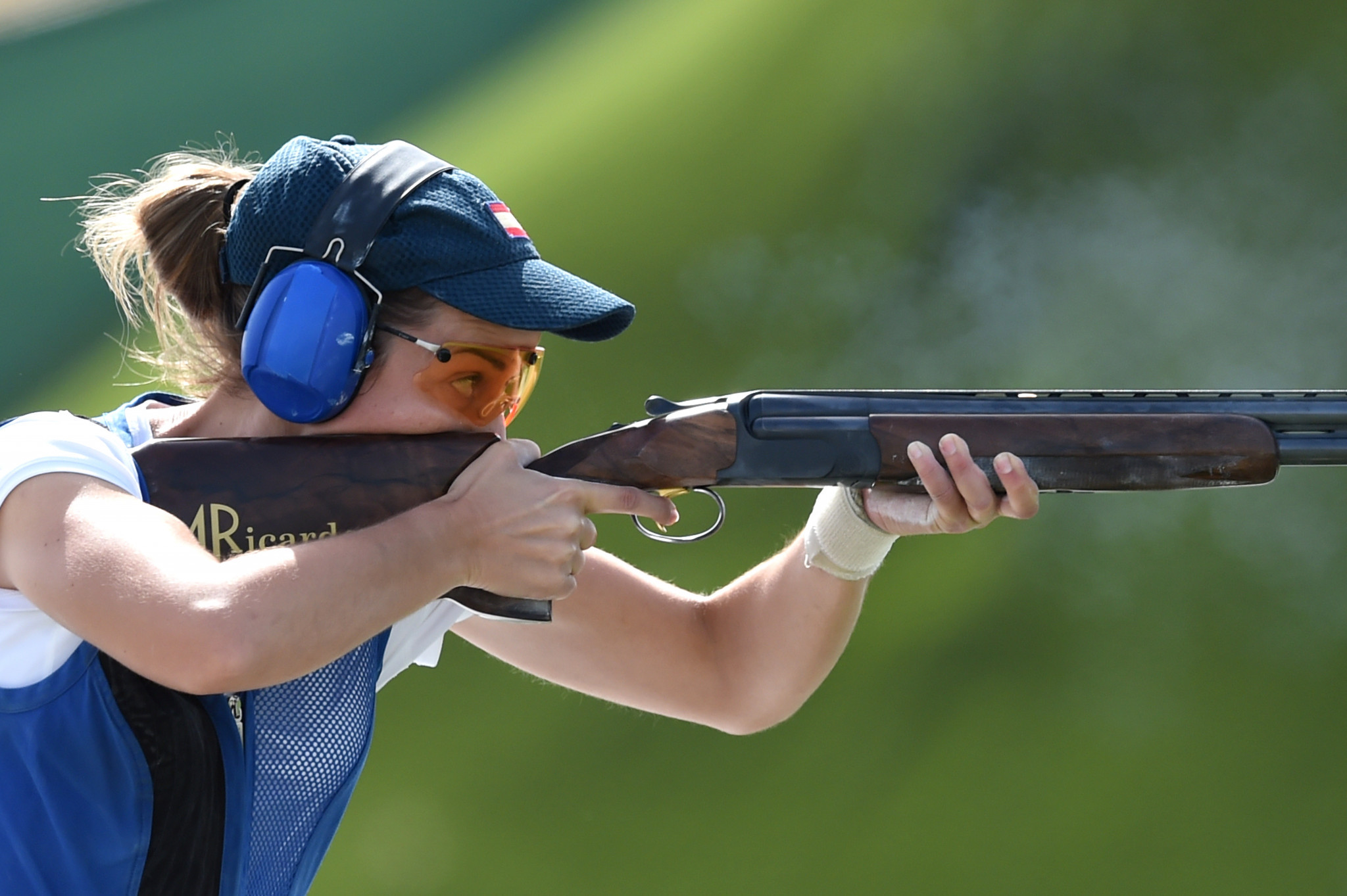 Fátima Gálvez won the women's trap at the ISSF World Cup in Cairo ©Getty Images