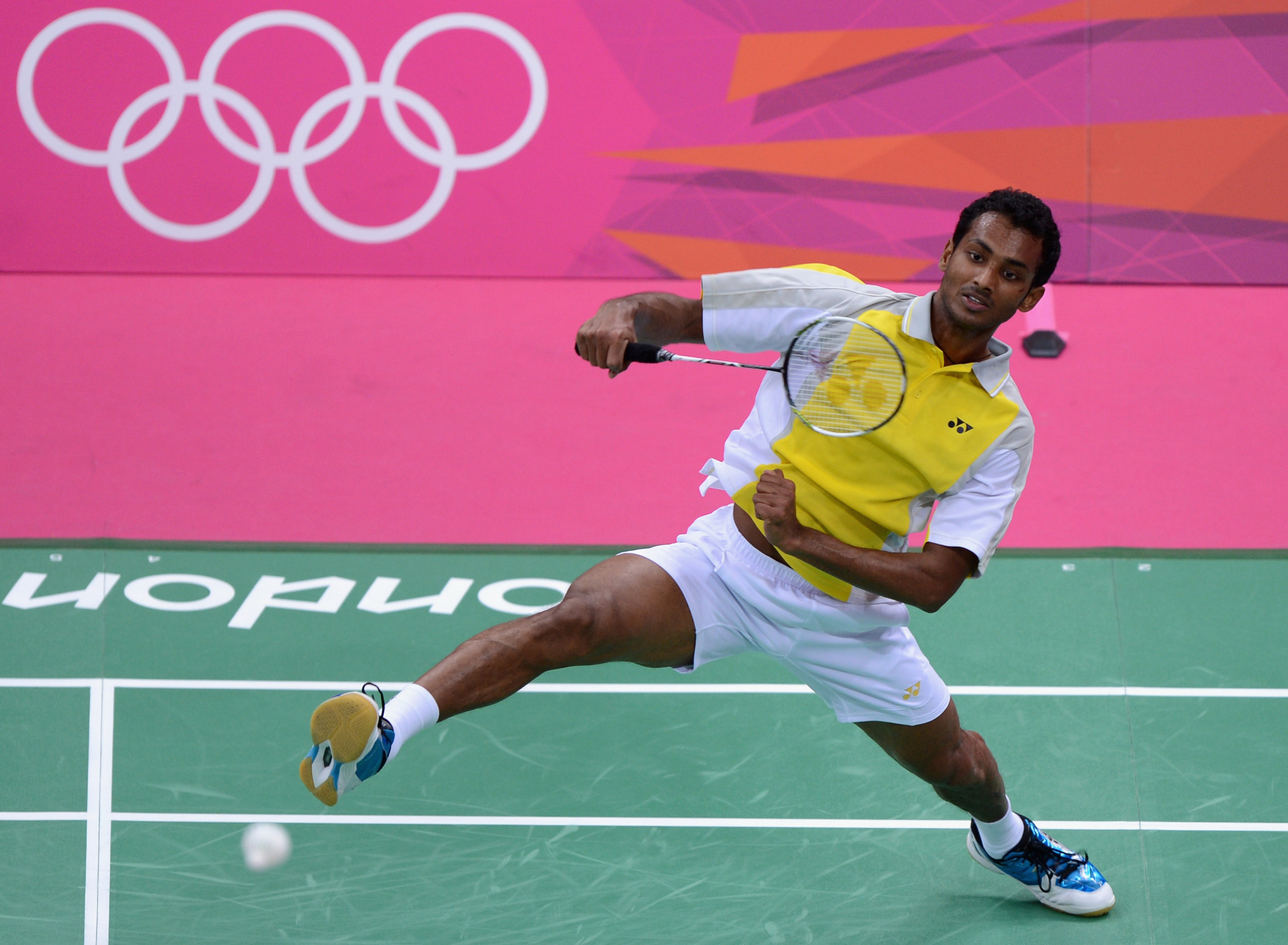 Badminton player Niluka Karunaratne was among the athletes to receive financial assistance ©Getty Images