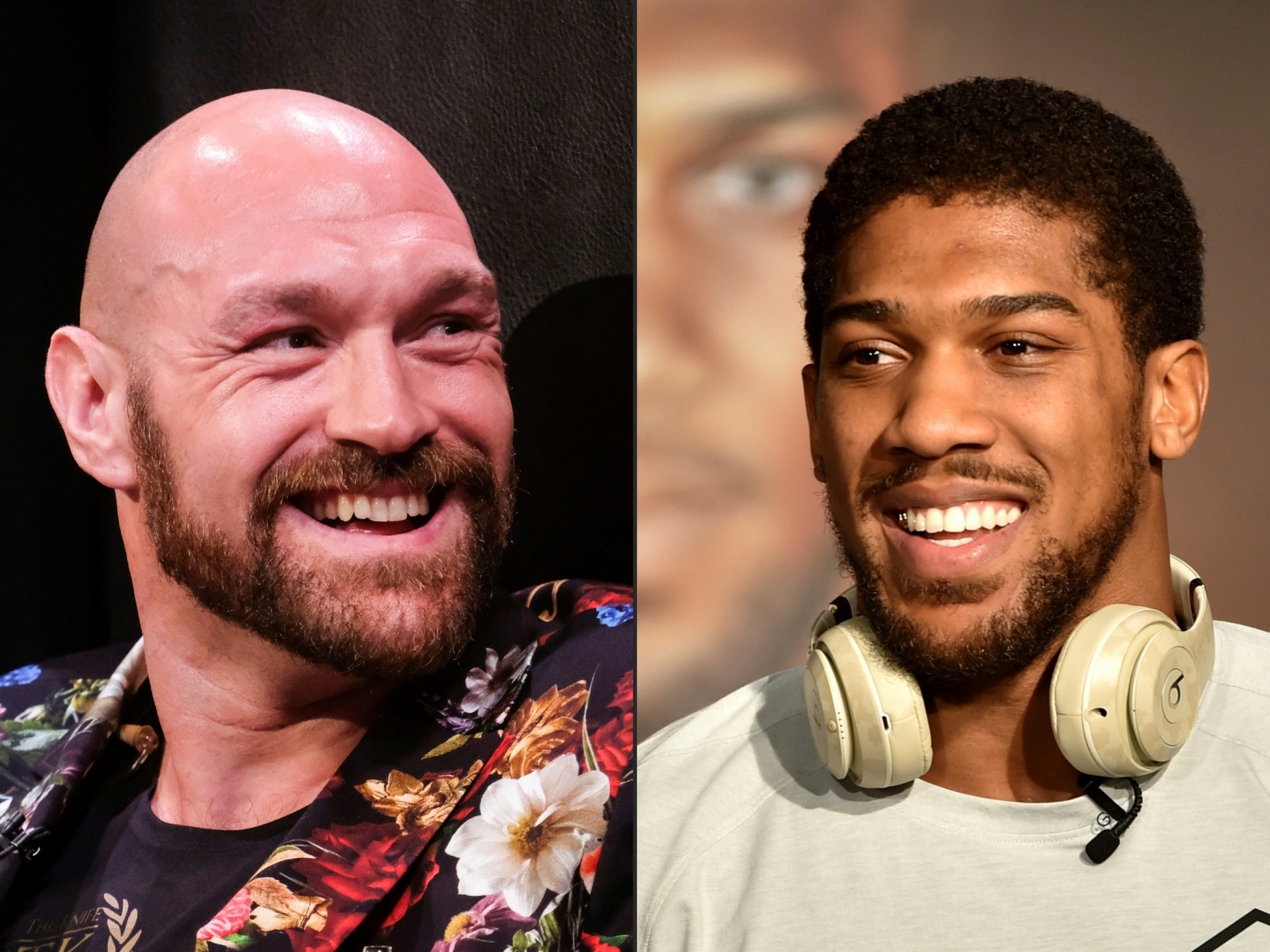 Tyson Fury v Anthony Joshua is being billed as the fight of this century - if it takes place ©Getty Images