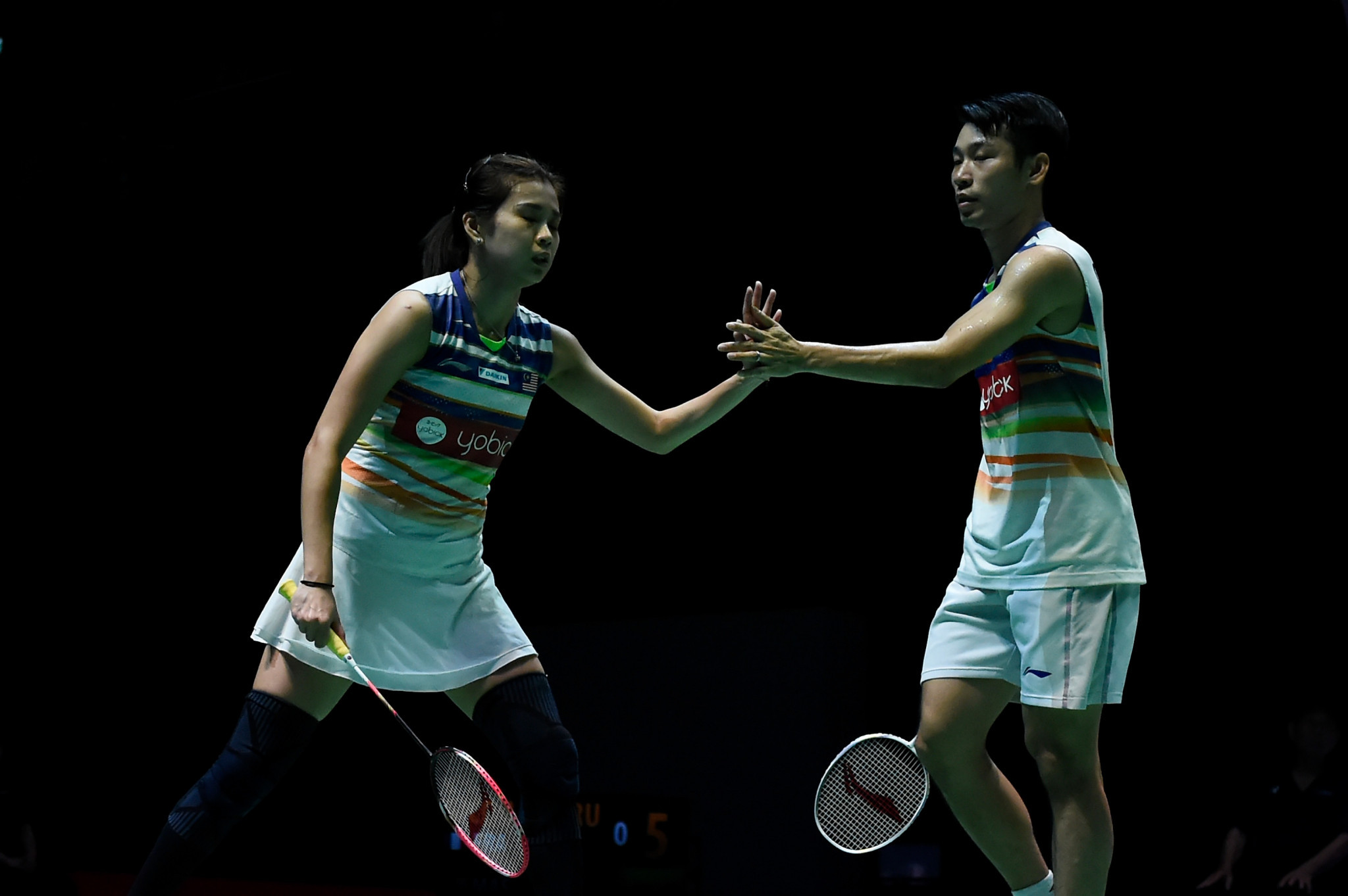 Top seeds battle to three-game win as mixed doubles competition opens BWF Swiss Open