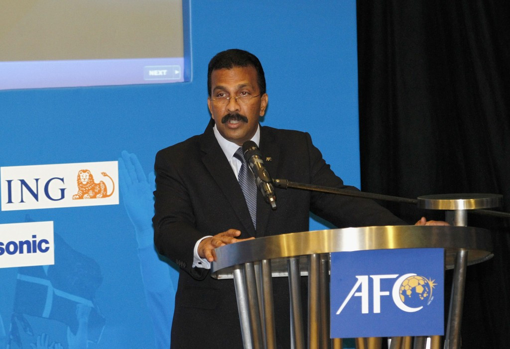 Asian Football Confederation suspend general secretary over corruption claims