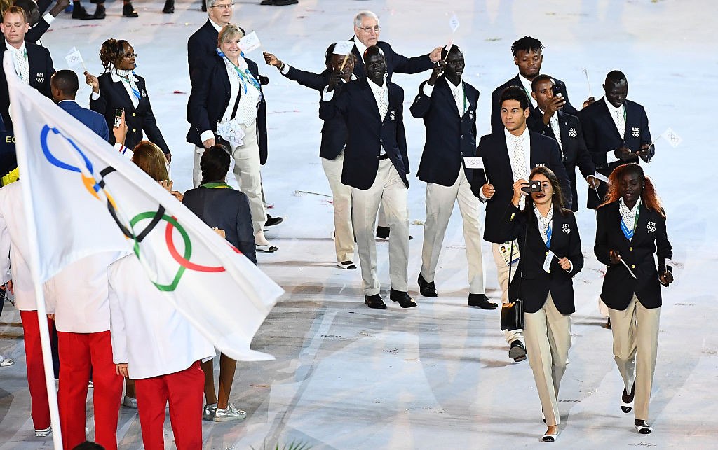 The first Refugee Olympic Team competed at Rio 2016 ©Getty Images
