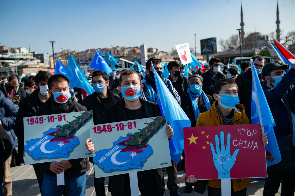 China has faced criticism over its treatment of Uyghur muslims ©Getty Images