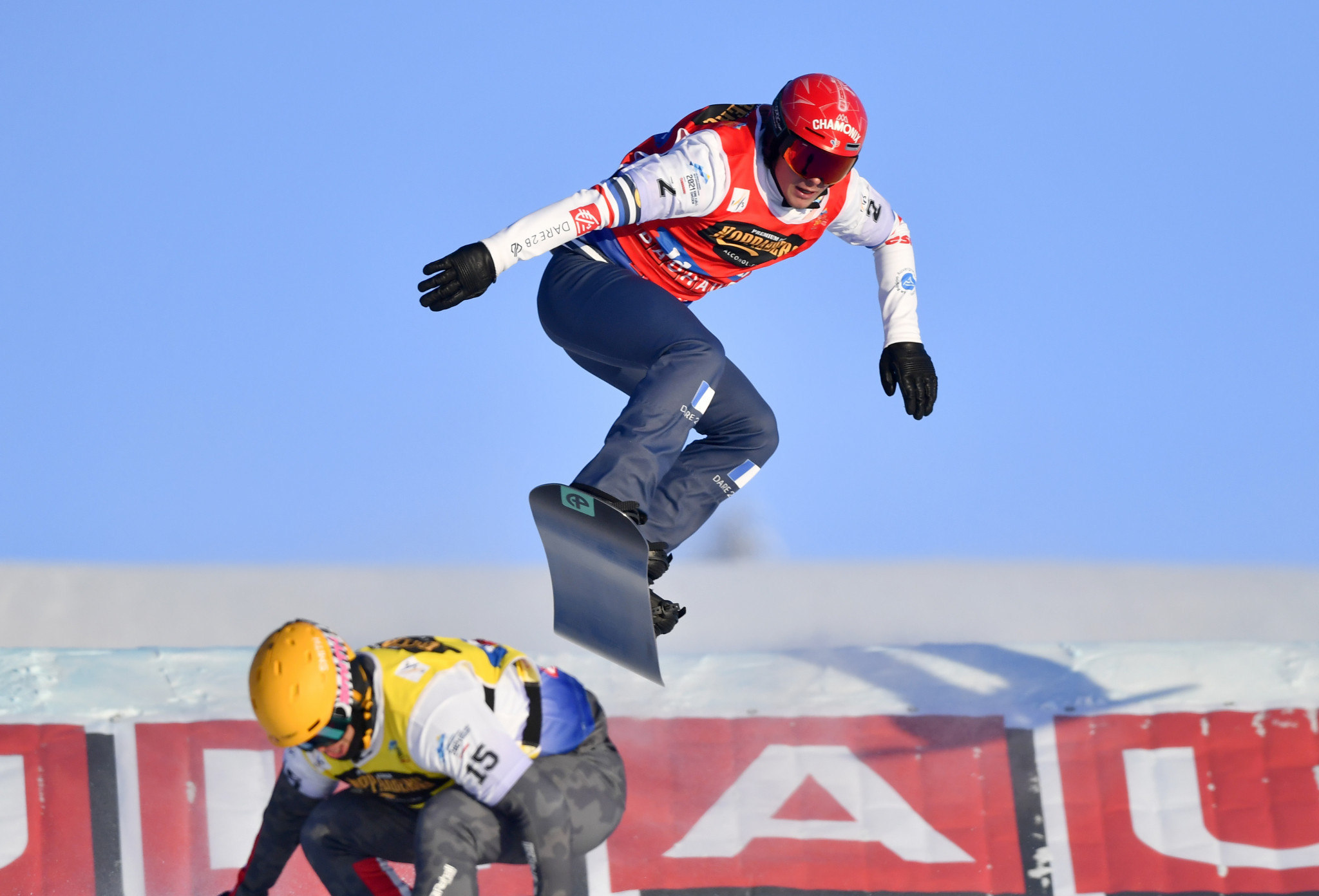 Merlin Surget came out on top in the men's qualification round in Bakuriani ©Getty Images