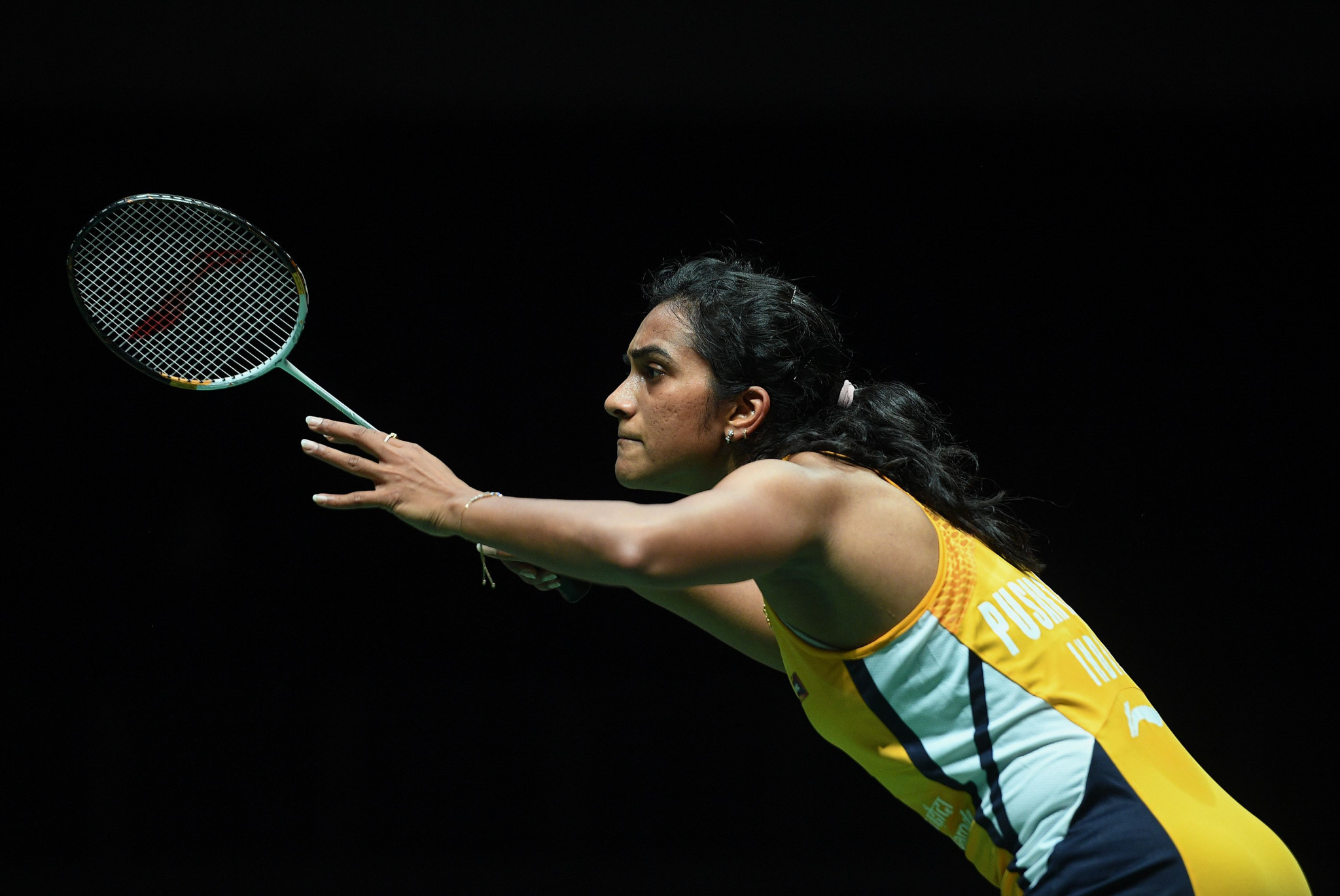 World champion PV Sindhu was among those to reach the second round in Basel ©Getty Images