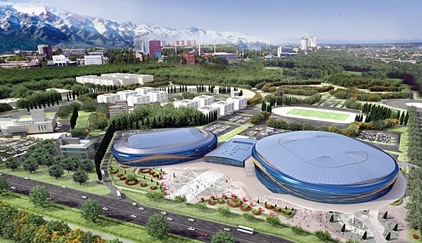 All construction is due to be completed by the end of August with venues opening next year ©FISU