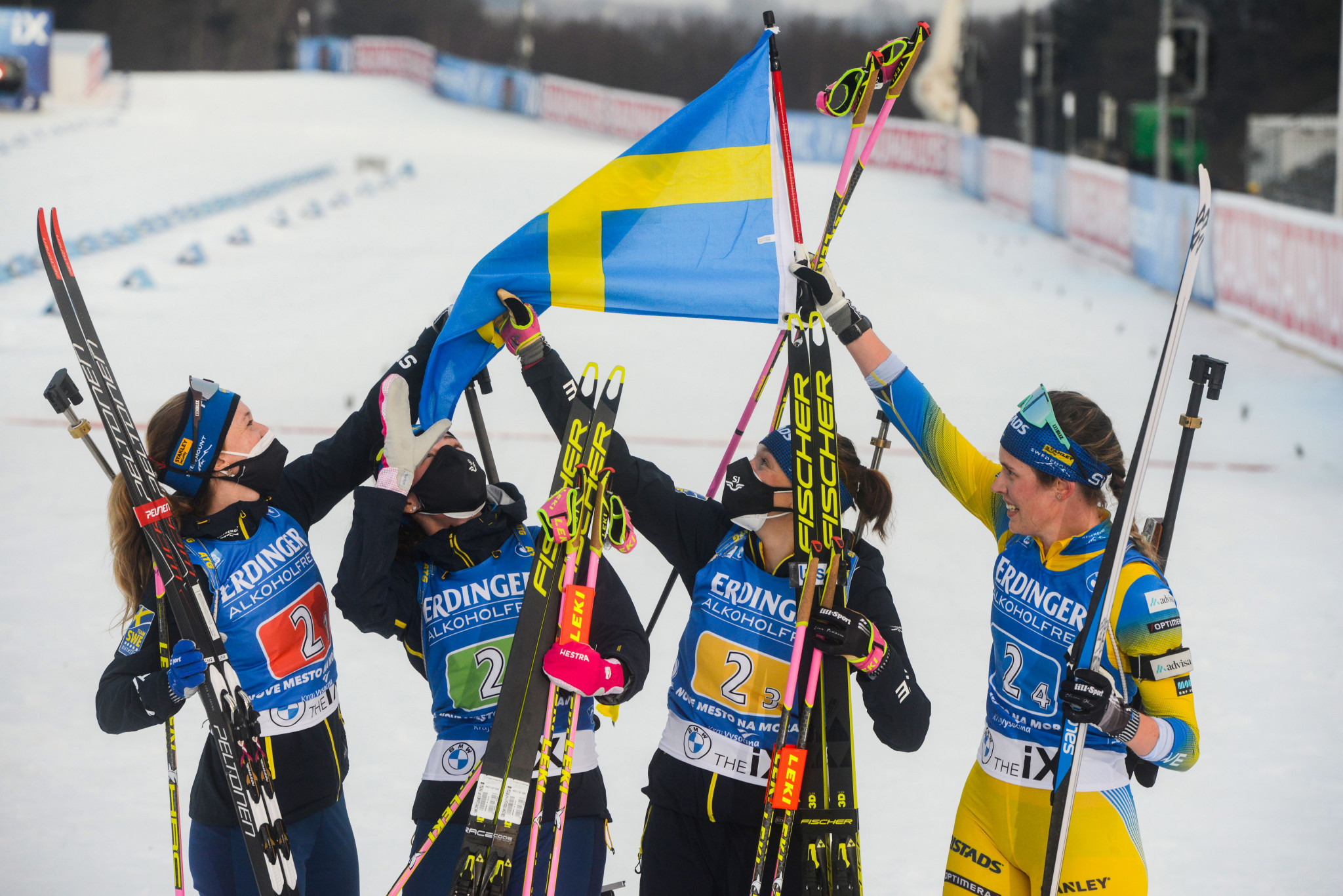 Sweden clinch women's relay IBU World Cup crown with Nové Město win