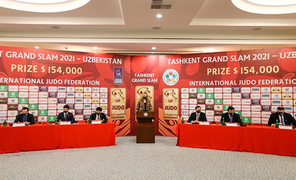 The Tashkent event has been upgraded to a Grand Slam, up from Grand Prix status ©IJF