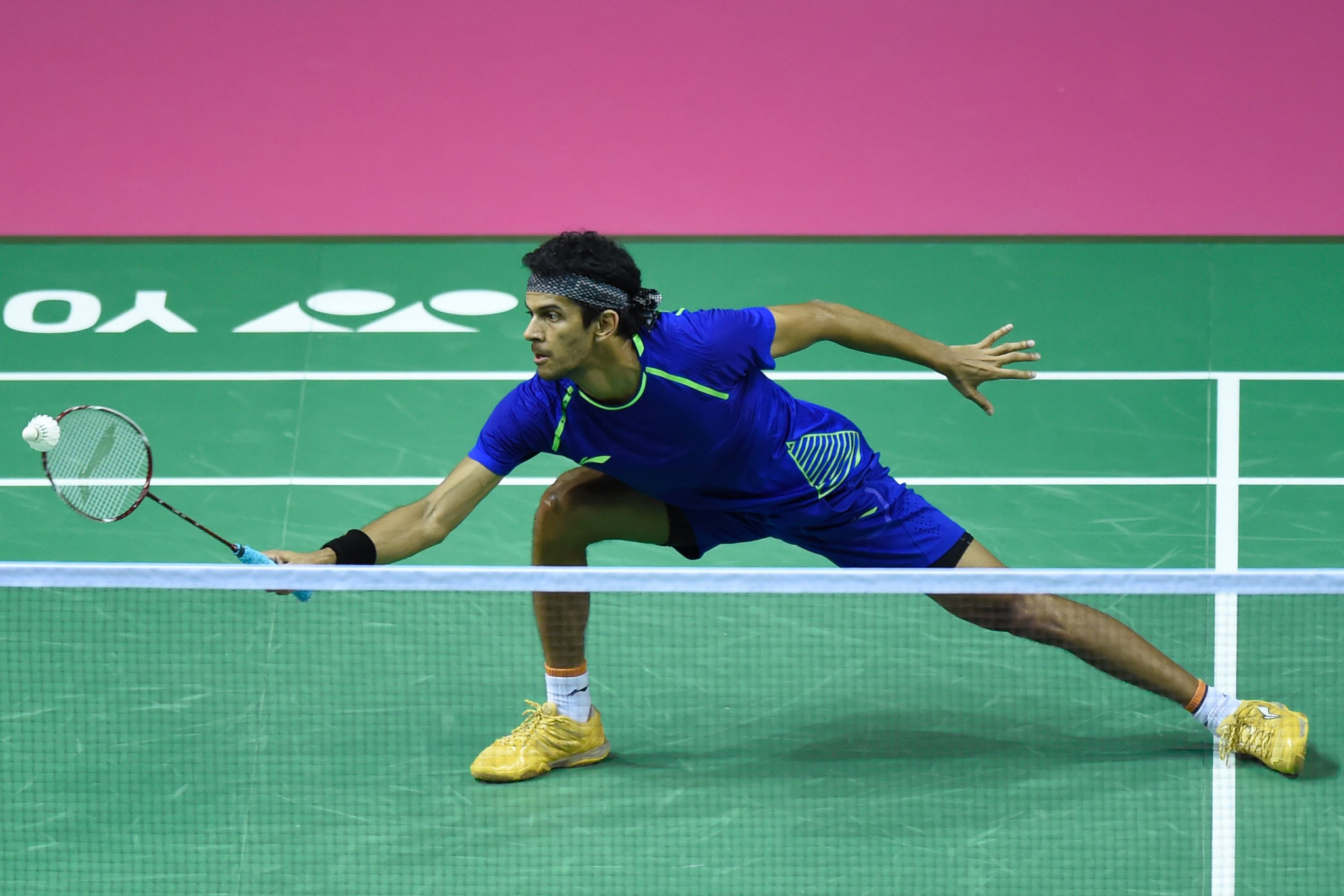 India's Ajay Jayaram beat the third seed at the BWF Swiss Open ©Getty Images