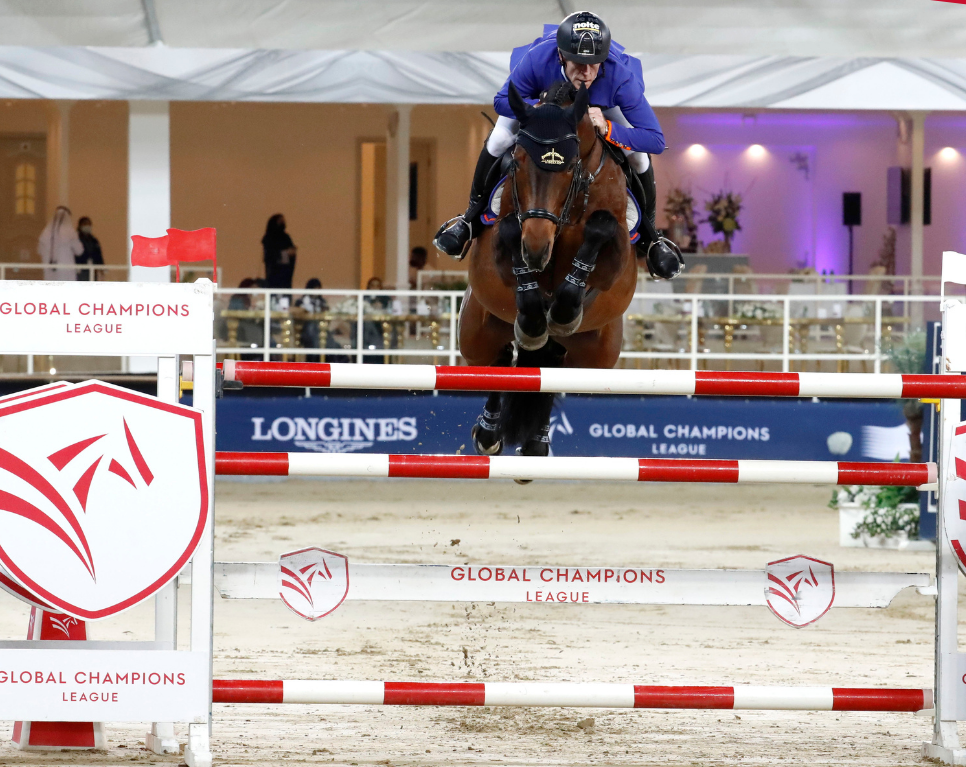 Reigning champions Valkenswaard United have an early lead in Doha ©GCL/Stefano Grasso