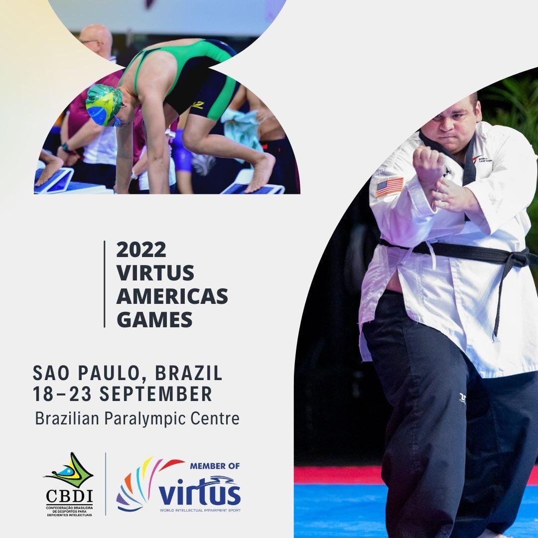 Virtus Americas Games © Virtus deve ser realizado no Centro Paraolímpico Brasileiro