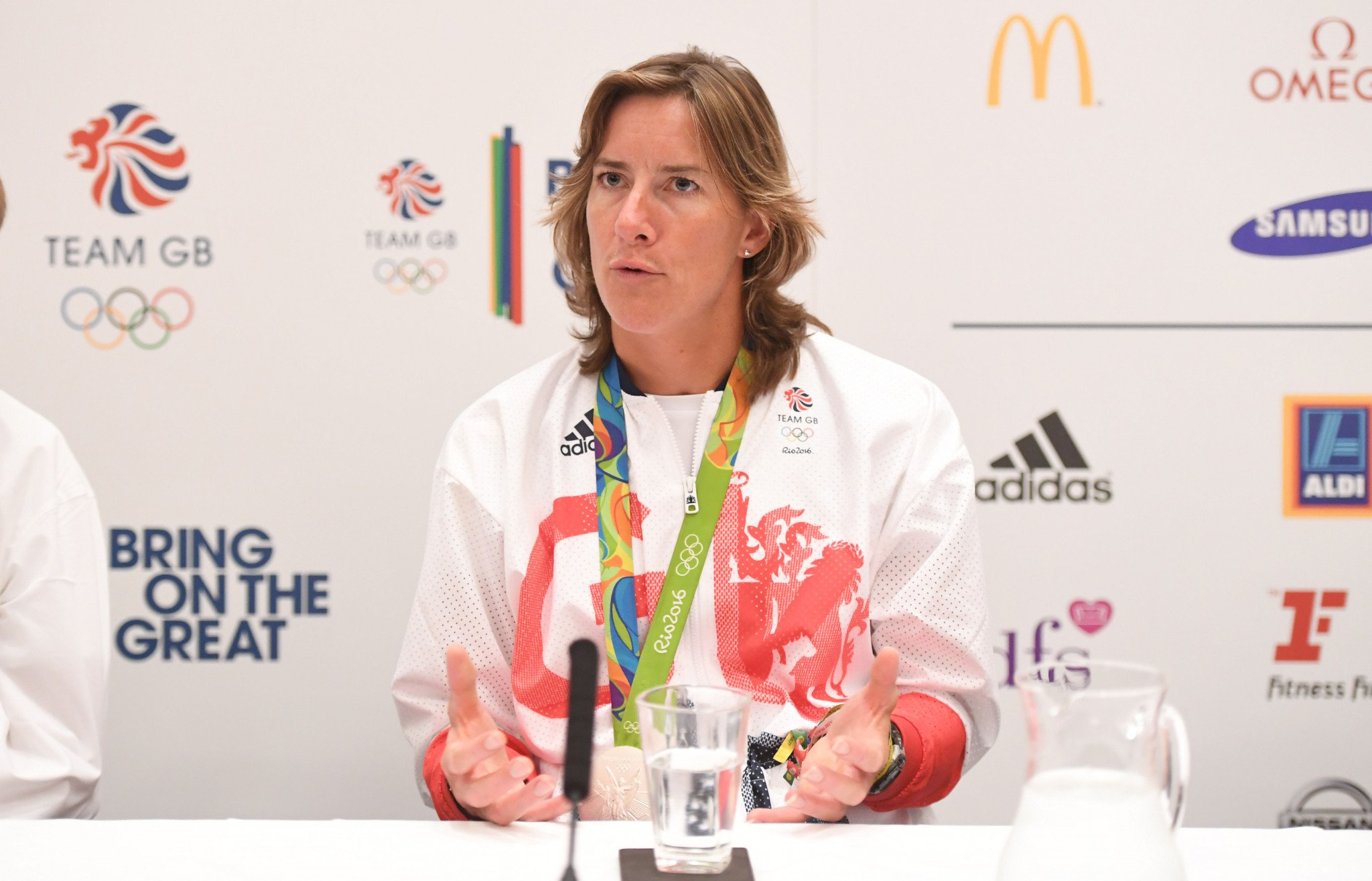 Olympic champion Dame Katherine Grainger is due to speak at the World Taekwondo Gender Equity and Women Leadership Forum ©Getty Images