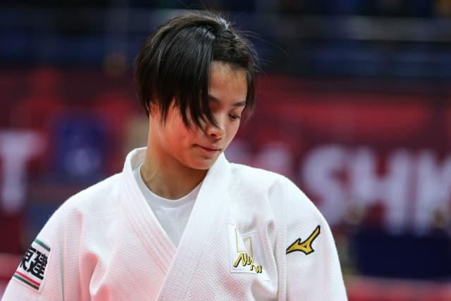 Uta Abe marked her return to the World Judo Tour with a win in the women's 52kg ©IJF