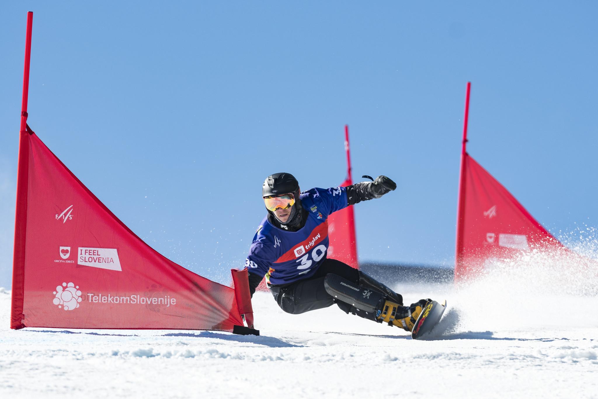 World champion Loginov seeking more snowboard parallel slalom success in Rogla