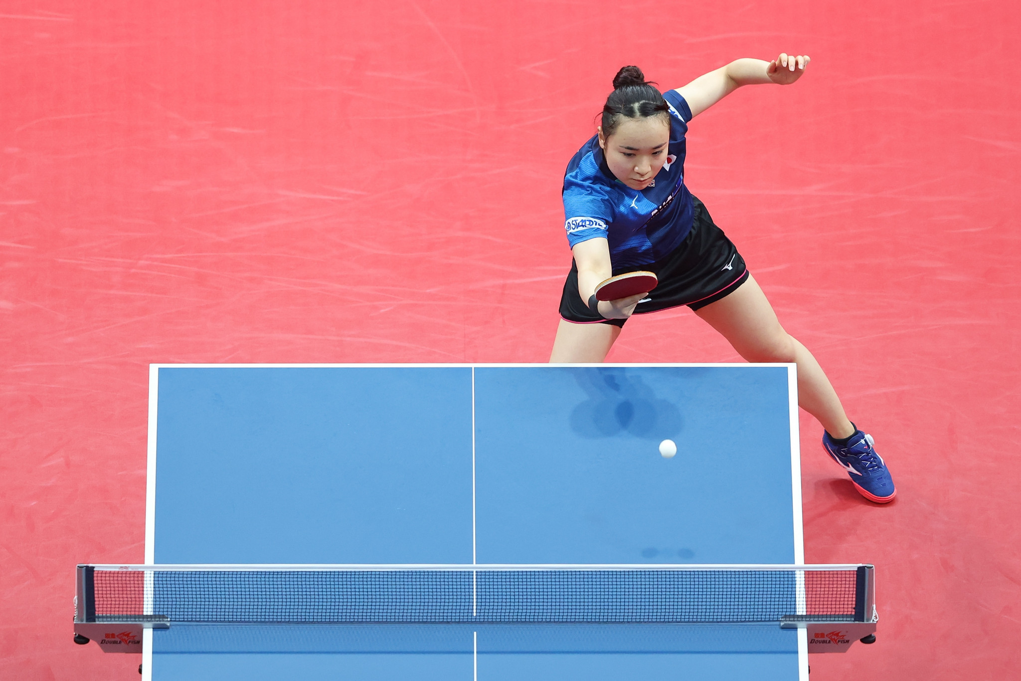 Mima Ito will play Japanese compatriot Hina Hiyata in the women's singles final at the WTT Contender in Doha ©Getty Images
