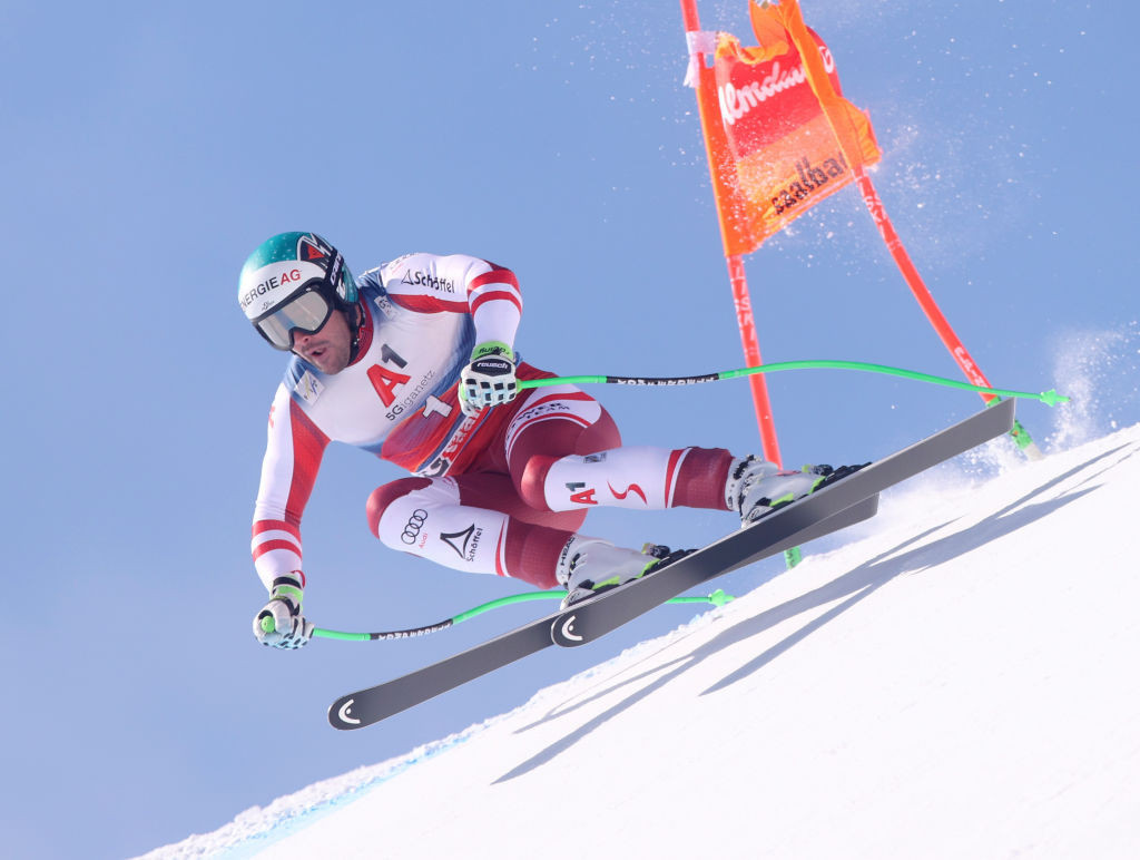 Vincent Kriechmayr of Austria secured his first downhill World Cup victory for more than two years ©Getty Images