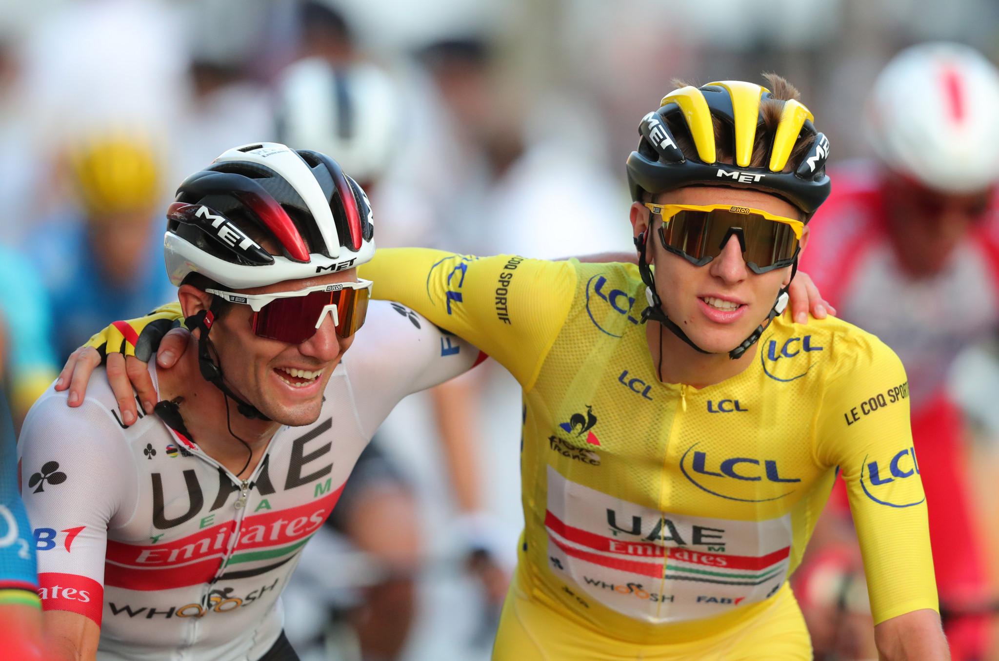 Le Coq Sportif is a long-term partner of the Tour de France ©Getty Images