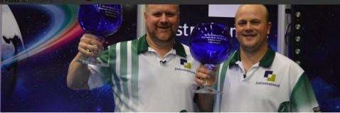 Scottish pair lift men's pairs title at World Indoor Bowls Championships