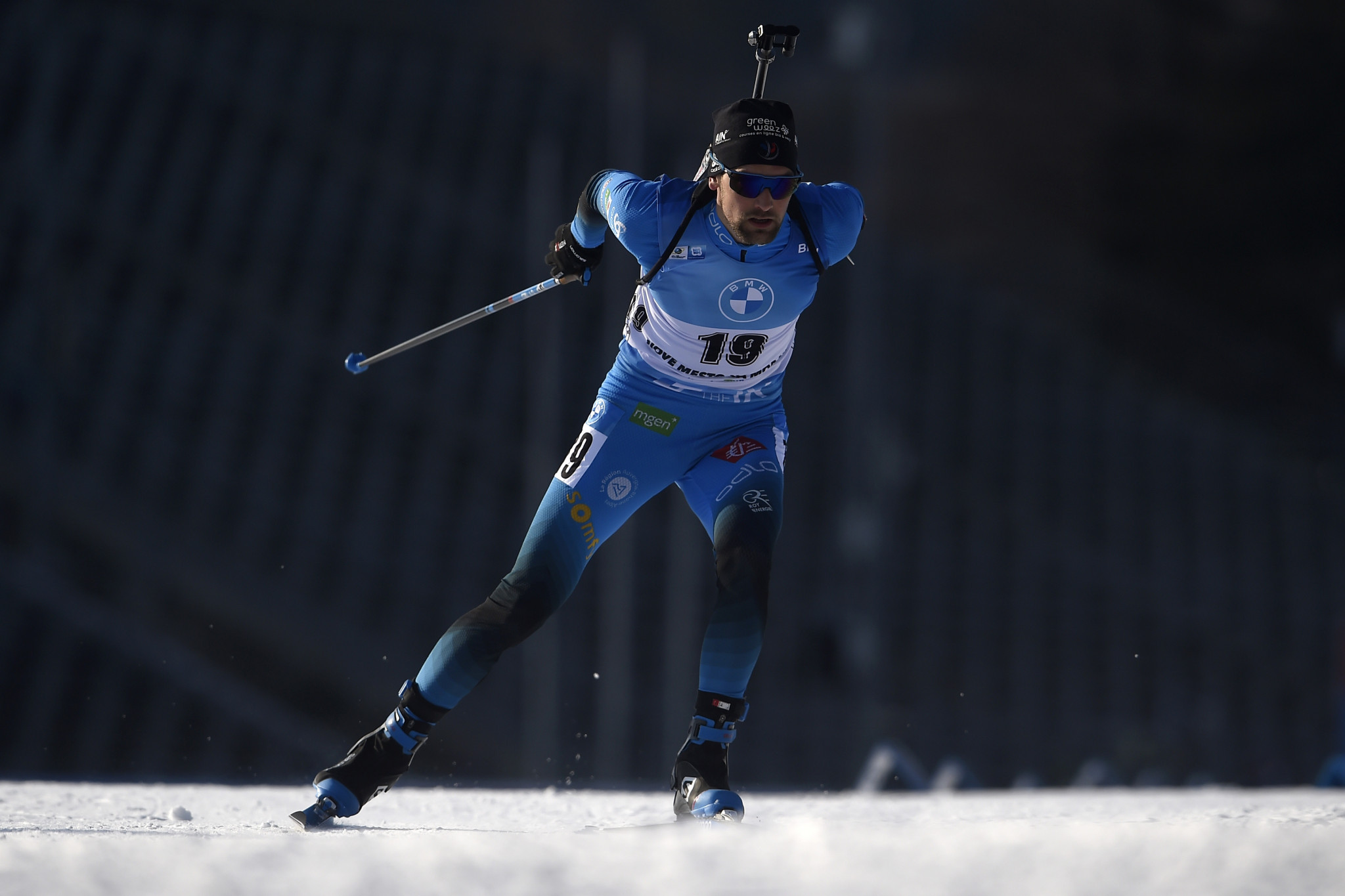 Simon Desthieux earned his first IBU World Cup win in Nové Město na Moravě ©Getty Images