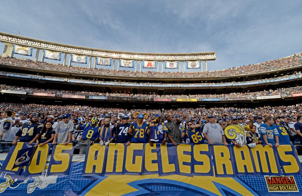 Los Angeles 2024 chairman Casey Wasserman has hailed the return of NFL franchise the Rams to the city ©Getty Images