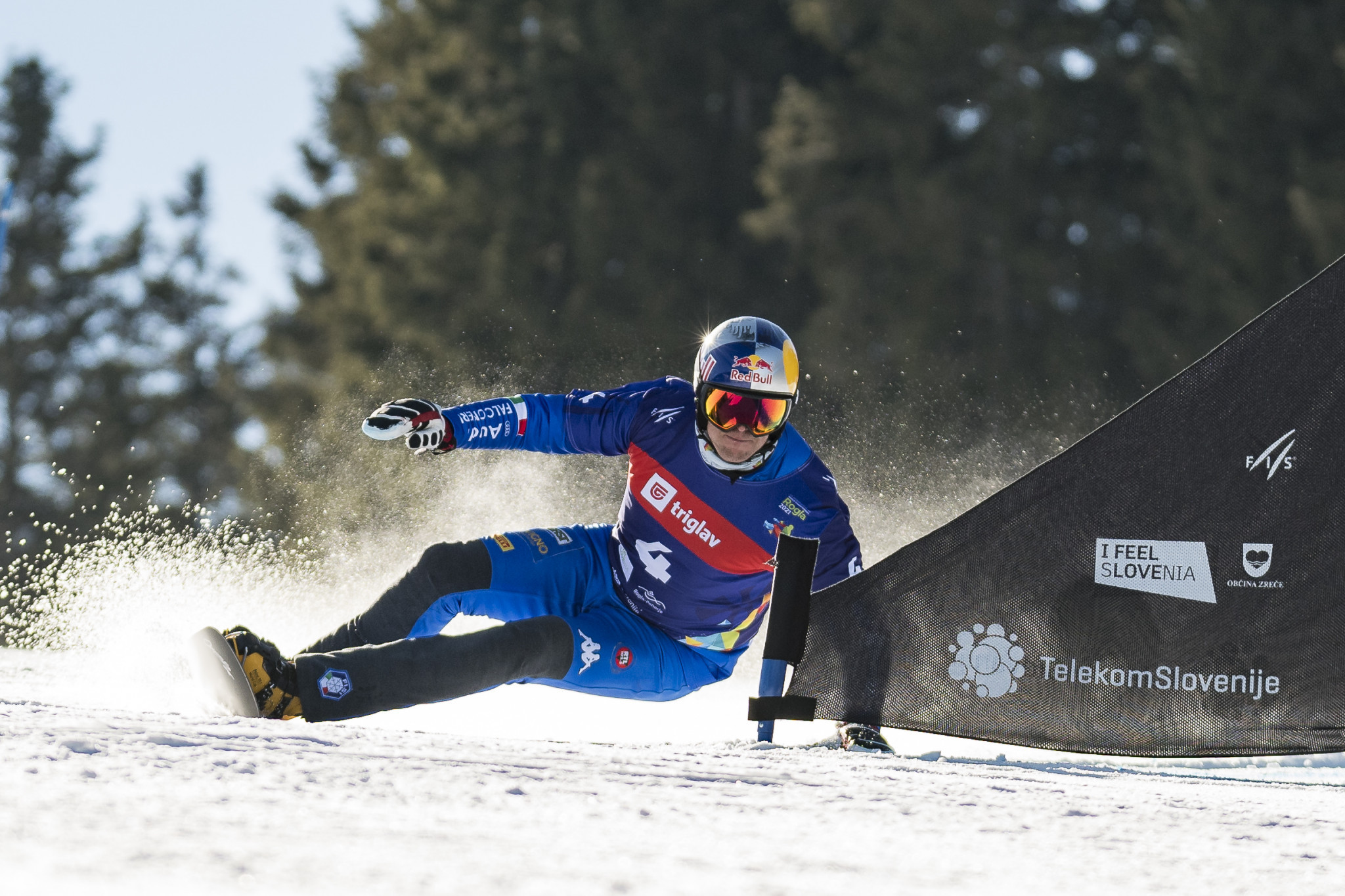 Fischnaller and Hofmeister win FIS Snowboard World Cup parallel giant slalom crystal globes