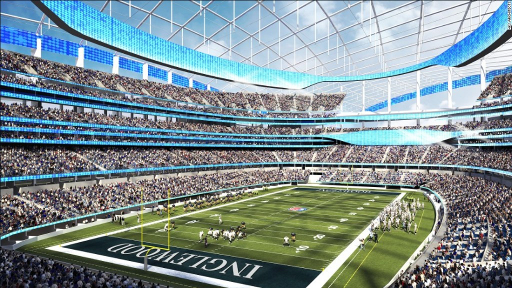 The Los Angeles Rams could move into a brand new stadium in 2019 which may be used if Los Angeles wins its bid to host the 2024 Olympics and Paralympics