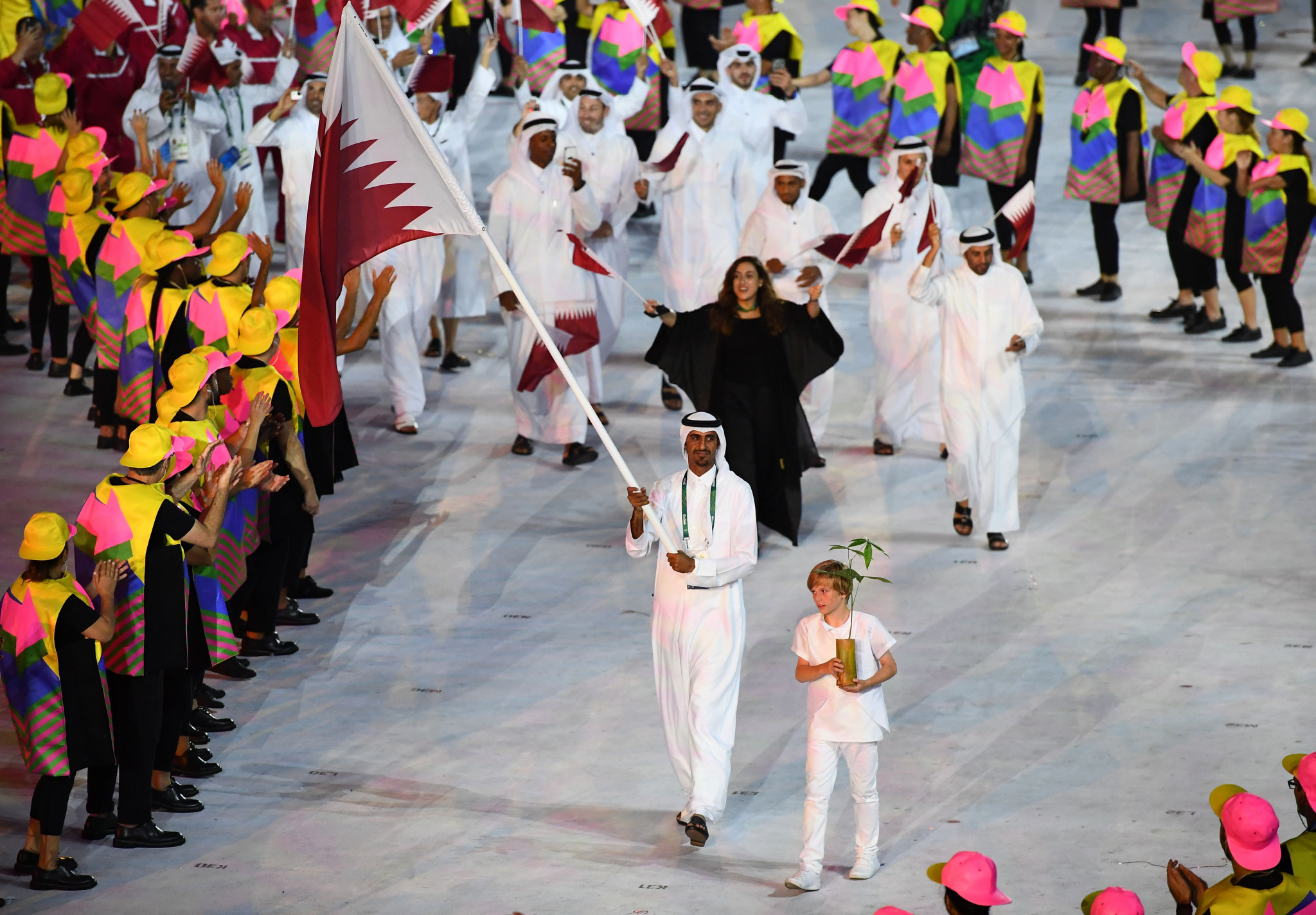 The Qatar Olympic Committee has confirmed it will remain in dialogue with the IOC for the 2032 Olympics ©Getty Images