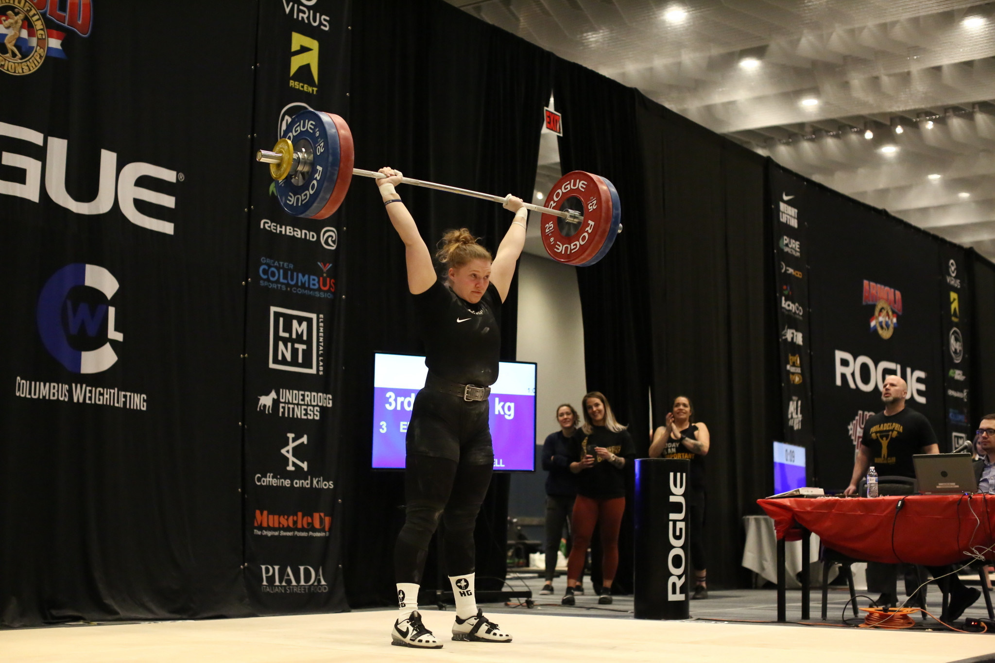 Live weightlifting is back in style in Spain and Salt Lake City