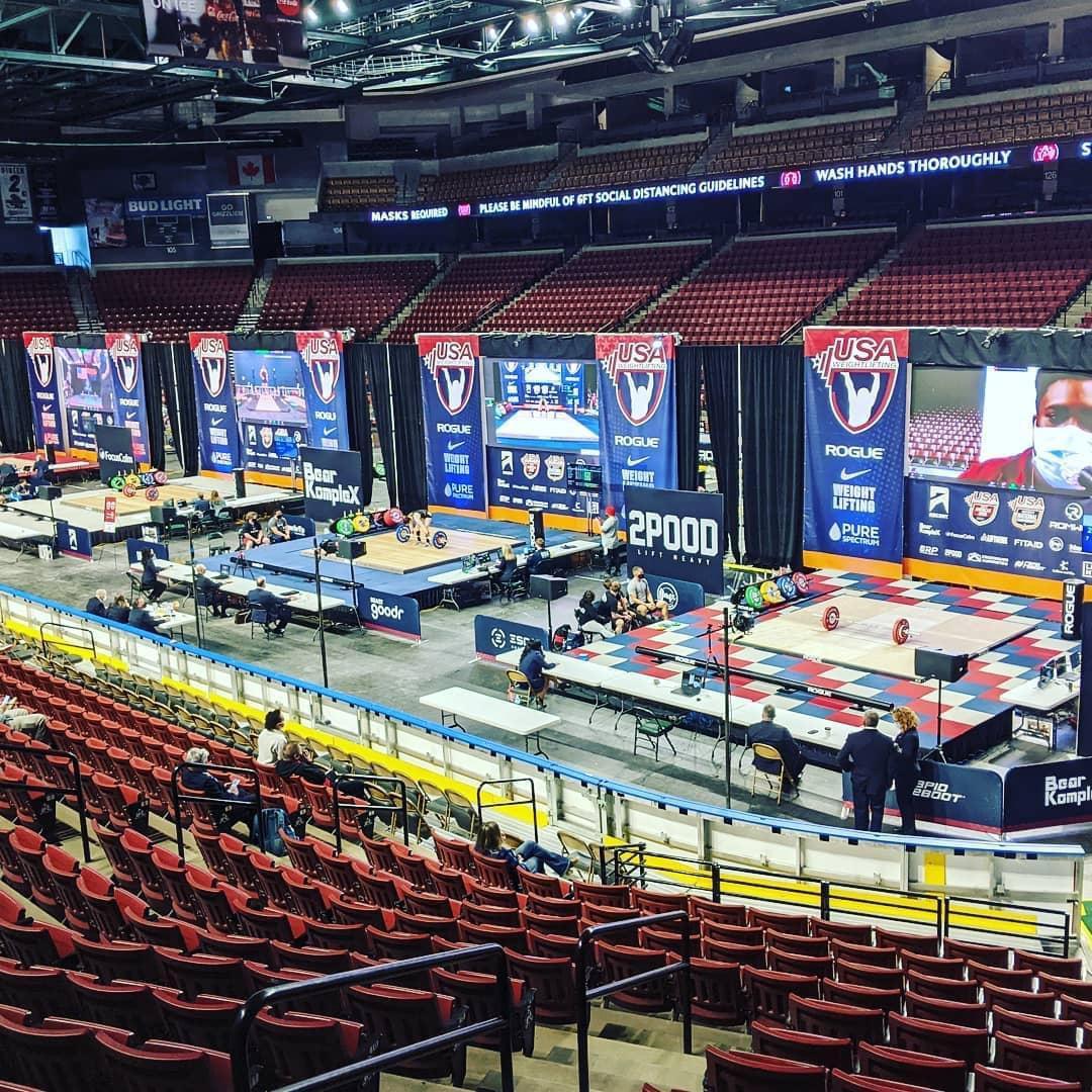 La arena en Salt Lake City que albergó el elemento personal del North American Open | © Phil Andrews