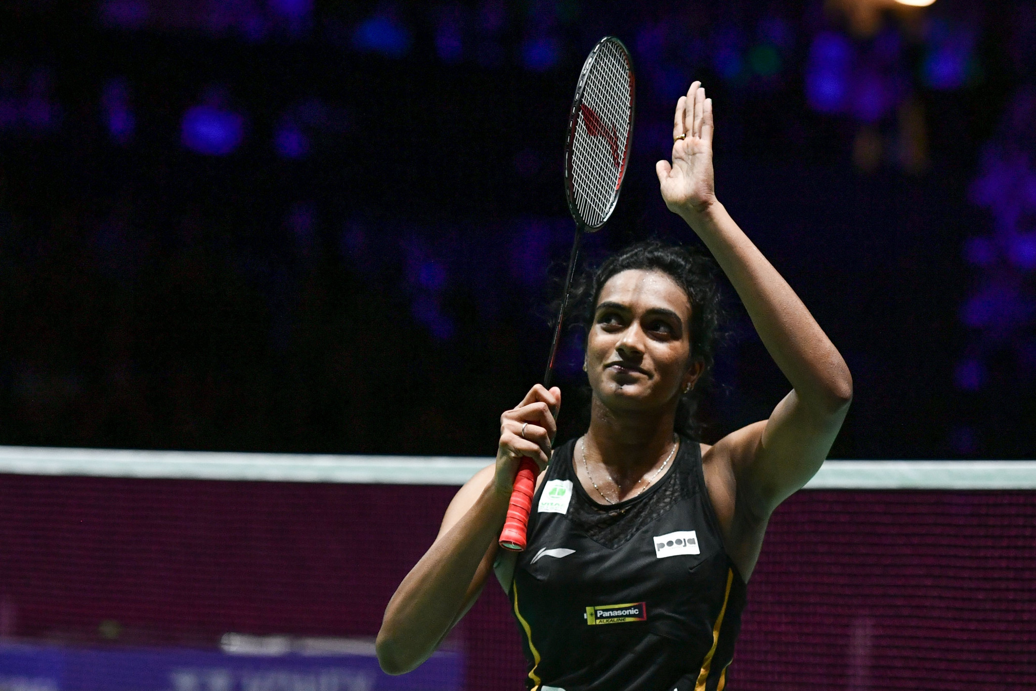Second seed Sindhu Pusarla of India will face top seed Carolina Marin in the BWF Swiss Open final ©Getty Images