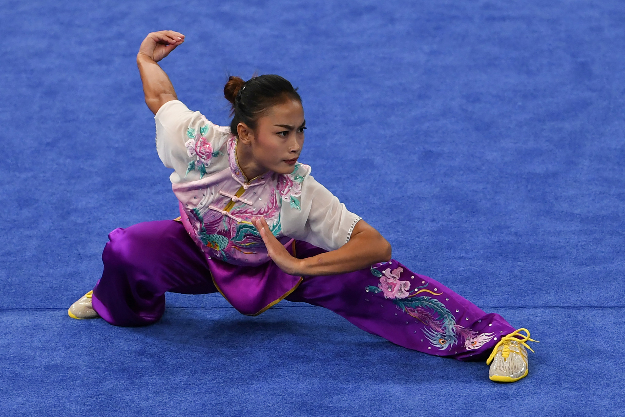Wushu is set to make its Youth Olympic Games debut at Dakar 2026 ©Getty Images