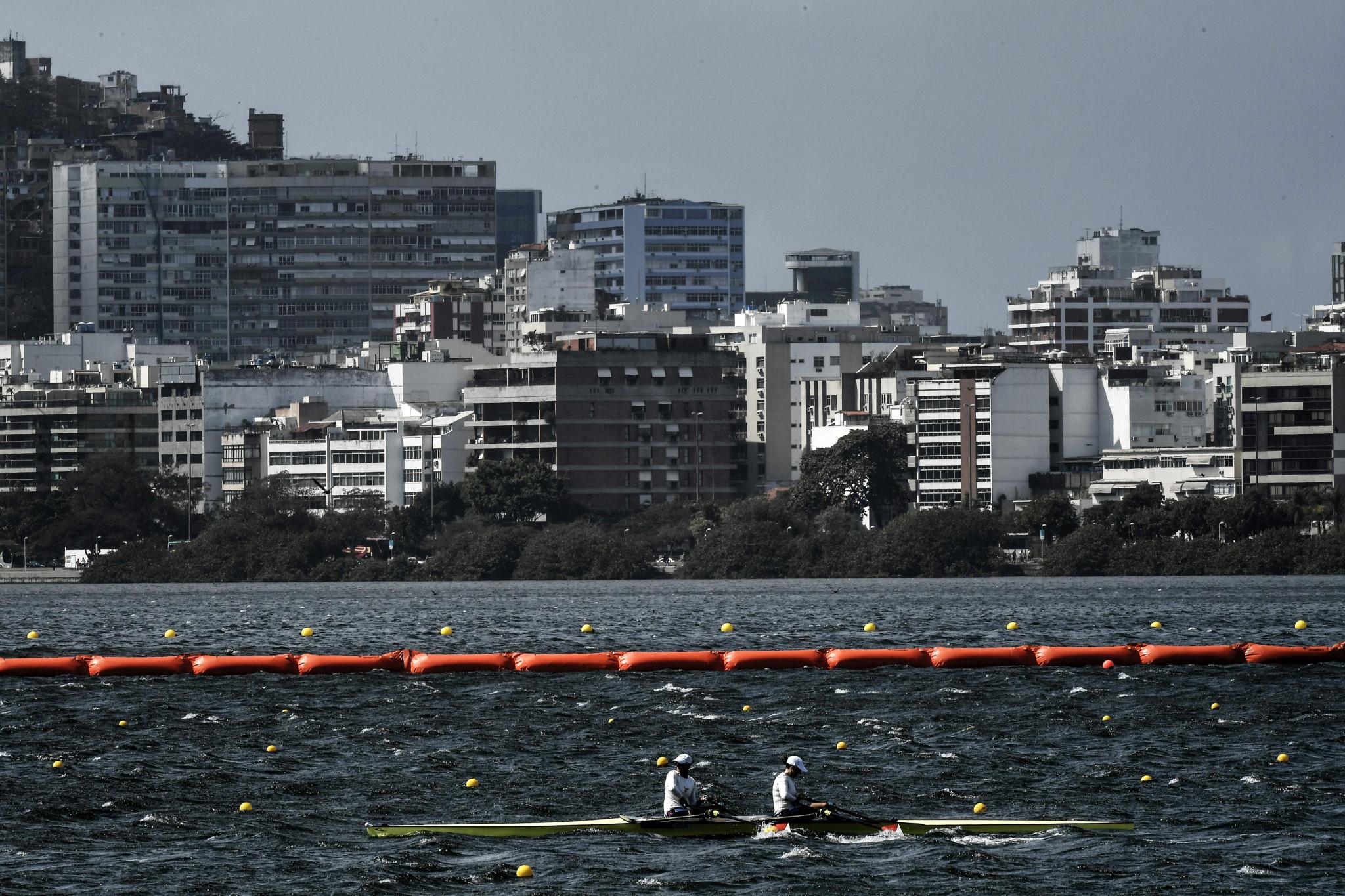 Qualifiers took place at the Rodrigo de Freitas Lagoon in Rio de Janeiro ©Getty Images