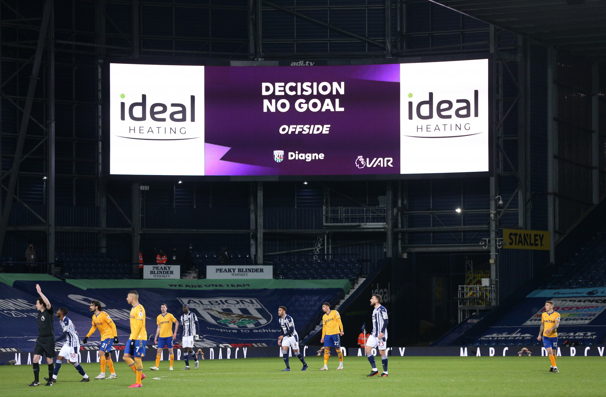 Narrow offside decisions have caused controversy in several European leagues ©Getty Images