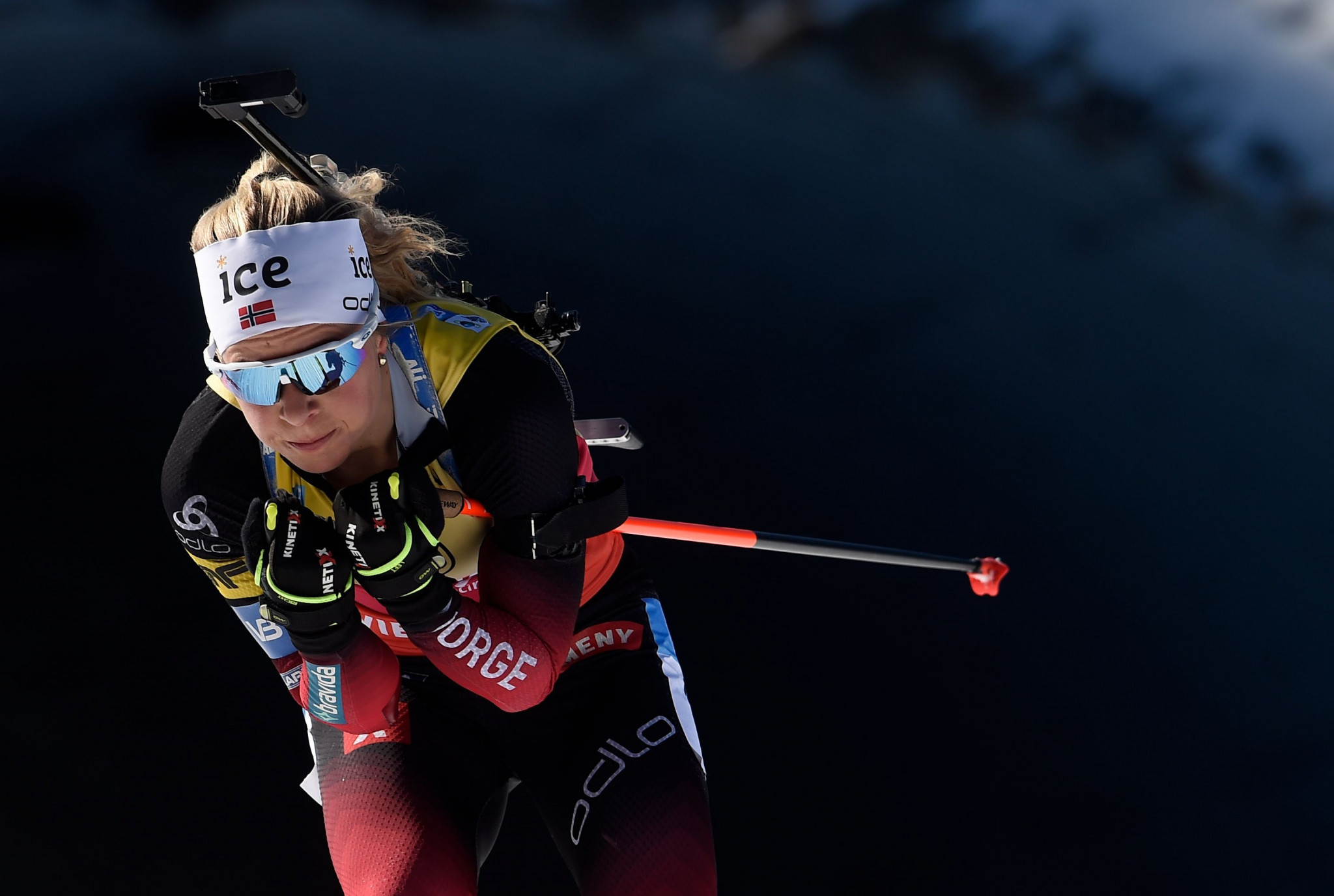 Tiril Eckhoff earned her second successive win at the IBU World Cup ©Getty Images