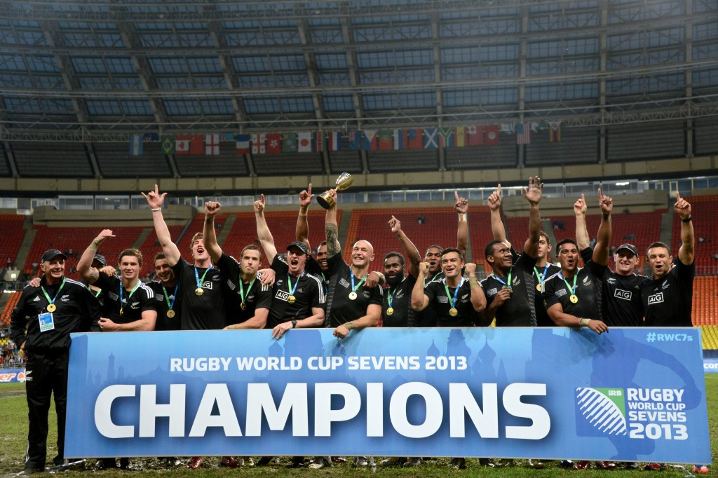 New Zealand will go to the Rugby World Cup Sevens 2018 in the US as defending champions ©Getty Images