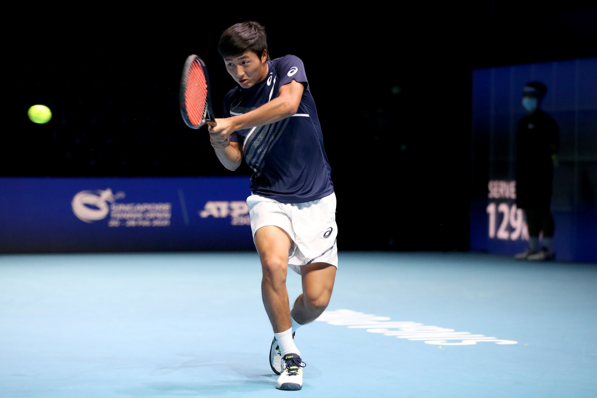 Former junior world number one Shintaro Mochizuki played for Japan in Davis Cup qualifiers ©Getty Images