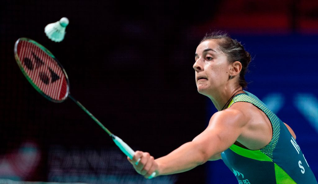 Carolina Marín won the women's singles title at the BWF Swiss Open ©Getty Images