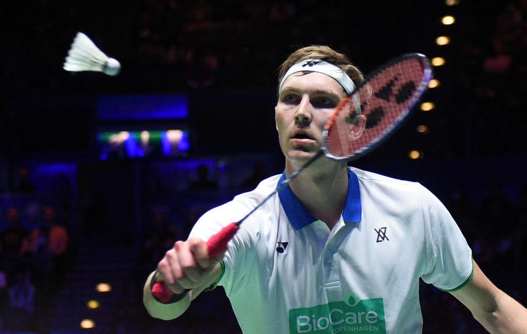 Viktor Axelsen won the men's singles title with victory over Kunlavut Vitidsarn ©Getty Images