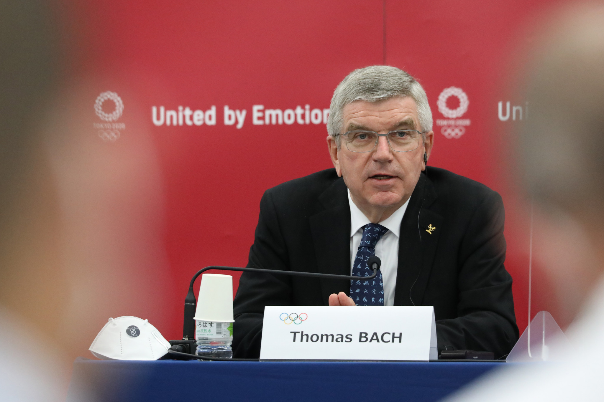Thomas Bach claimed the IOC is