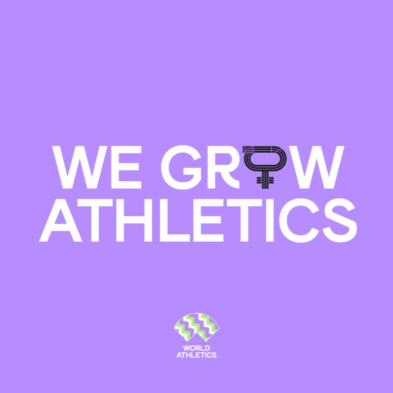 World Athletics launches #WeGrowAthletics campaign to advance gender equality