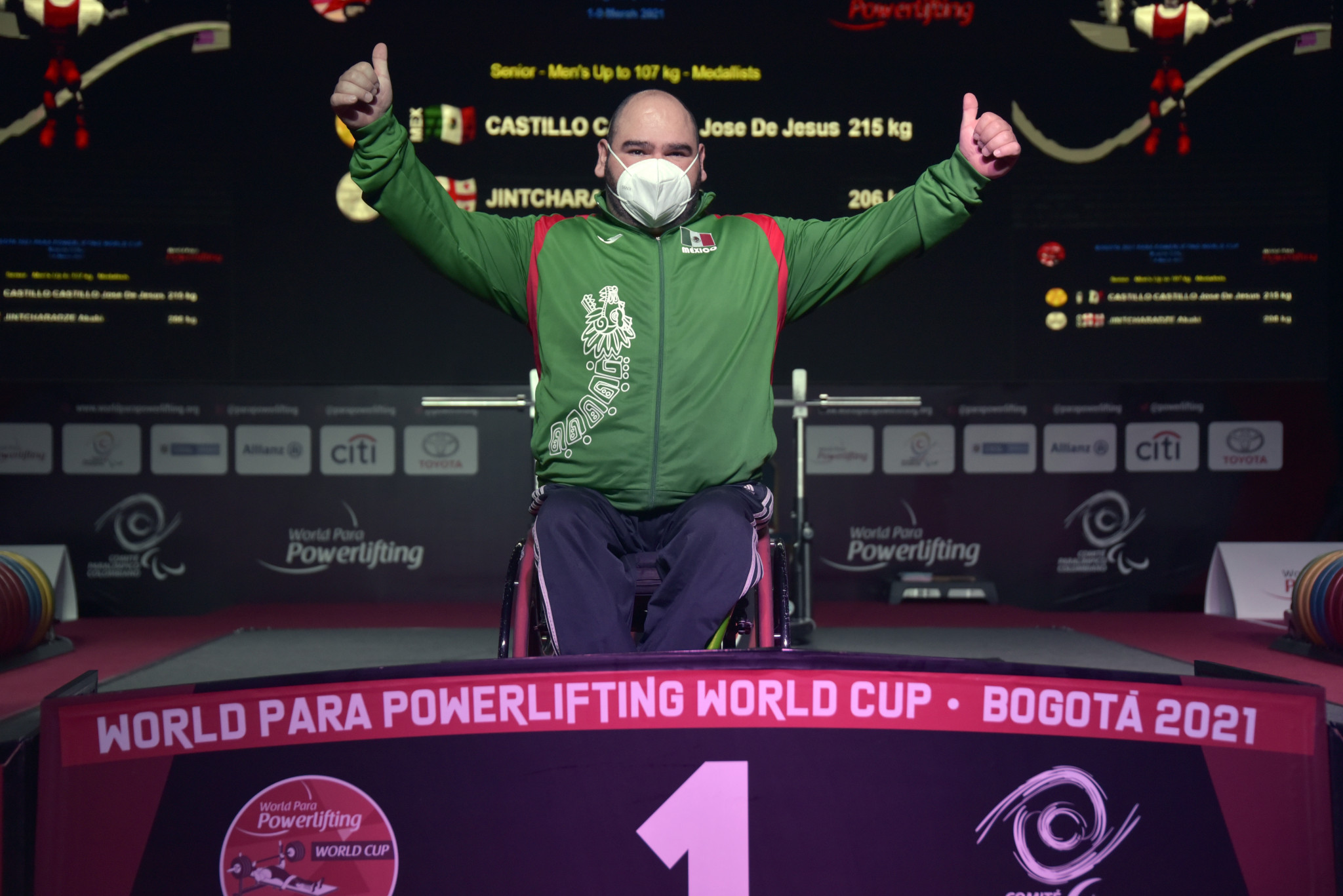 Parapan American Games champion Jose De Jesus Castillo Castillo was among the winners on the World Cup's last day ©Getty Images