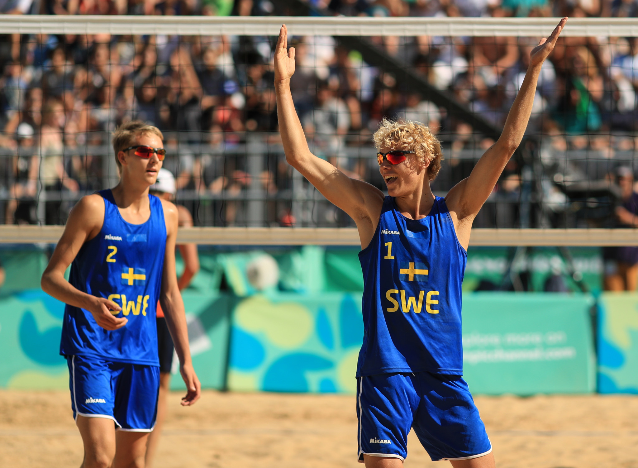 Youth Olympic champions reach main draw of Katara Beach Volleyball Cup