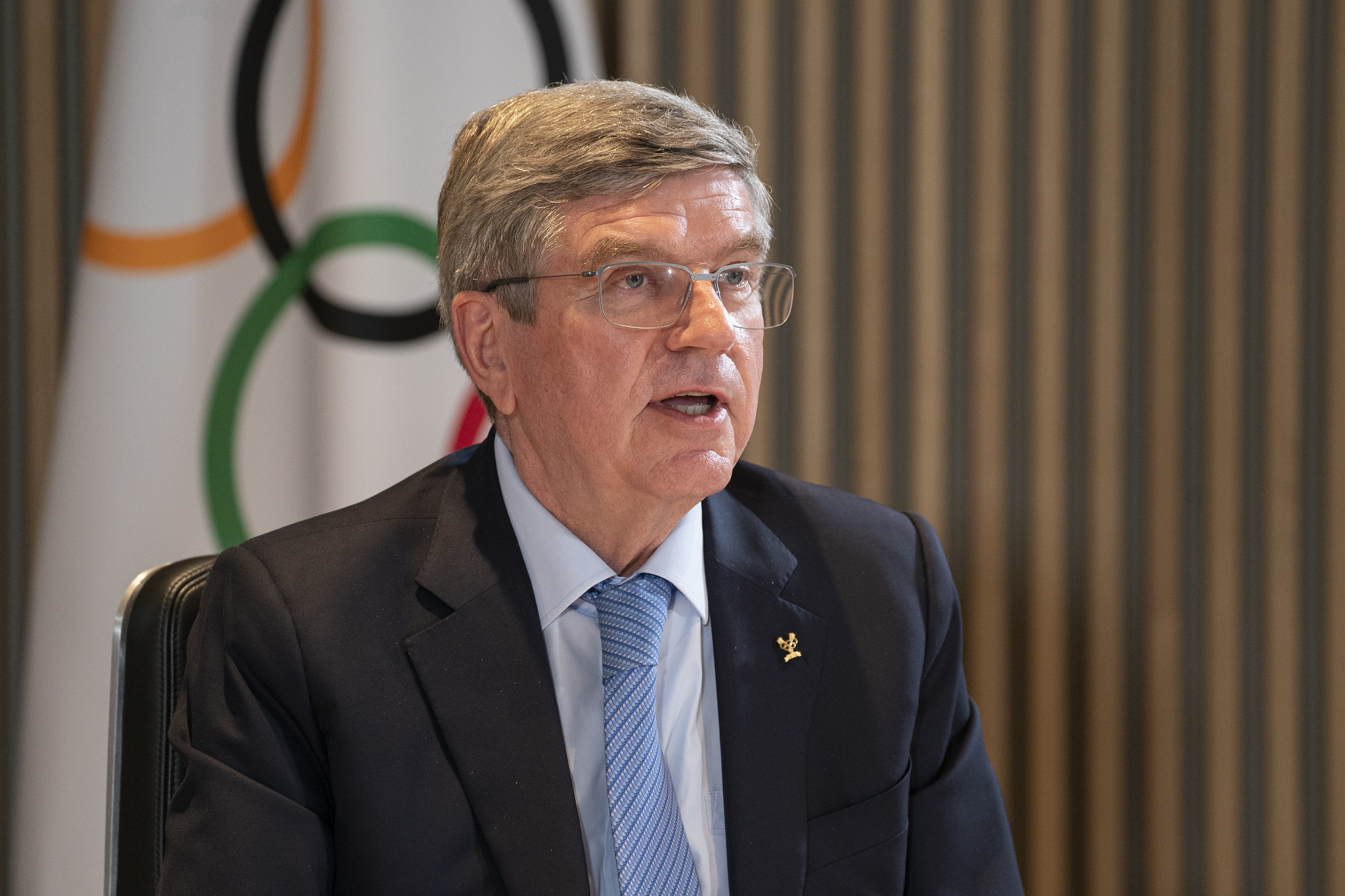 The German will be re-elected for his second and final term at the virtual IOC Session this week ©IOC