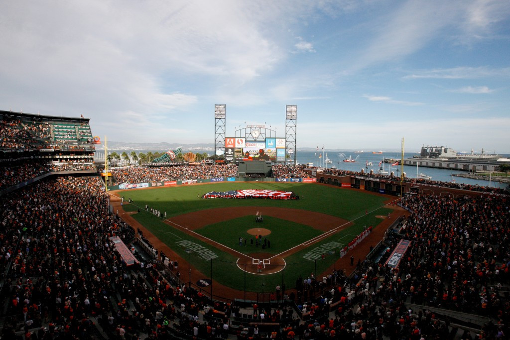 The San Francisco Giants' AT&T Park will stage matches at the Rugby World Cup Sevens 2018